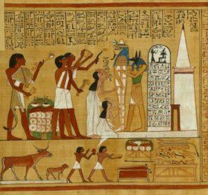 Dodenboek van Hoenefer, British Museum Londen