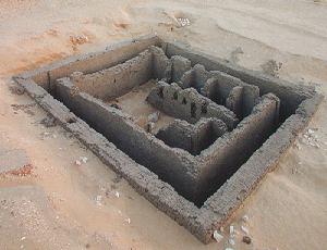 Het graf P van Peribsen te Abydos uit de Vroeg-dynastische periode