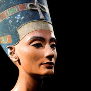 Virtuele rondwandeling 'De buste van Nefertiti in het Neues Museum, Berlijn'