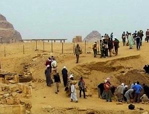 Opgravingen te Sakkara zijn onderdeel van de archeologie in Egypte