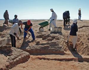 Opgravingen te Sedeinga is onderdeel van de archeologie in Soedan