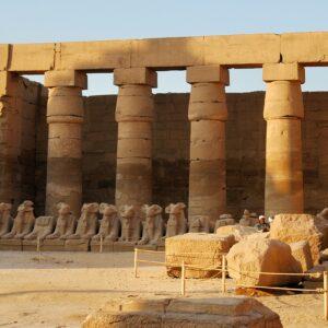 Virtuele rondwandeling 'Struinen door Egyptische tempels'